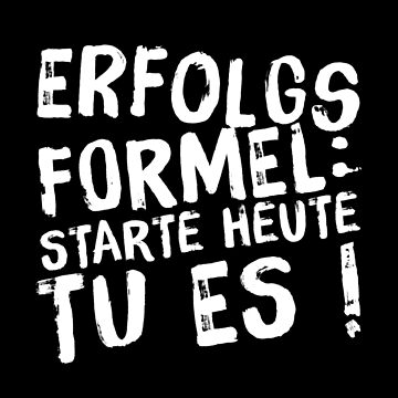 Success Formula Start Today Do It Motivation Gift by Netsrikfa