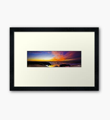 Wyalup Point Panoramic Framed Print