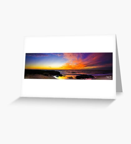 Wyalup Point Panoramic Greeting Card
