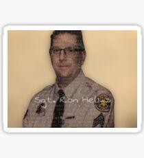 Borderline Strong - Sgt. Ron Helus Sticker