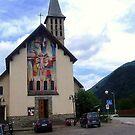A little Parish Church for a little Village by sstarlightss