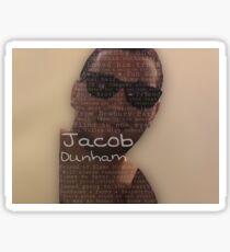 Borderline Strong - Jacob Dunham Sticker