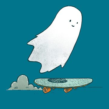 The Ghost Skater by nickv47