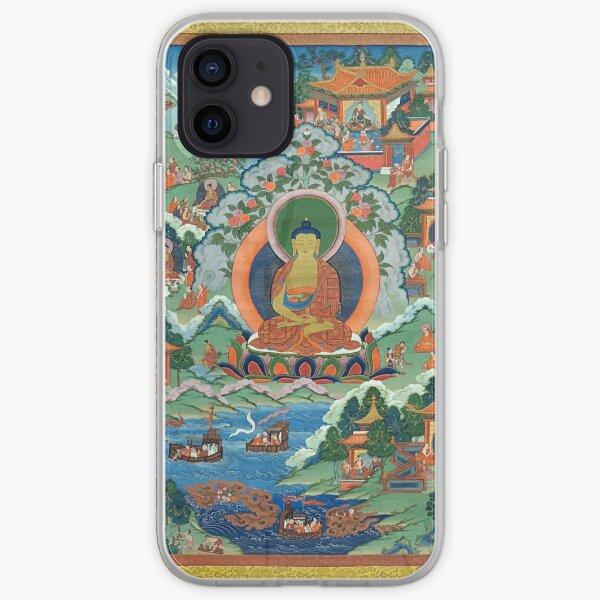 Thanka with Buddha (Restored Tibetan Artwork) iPhone Soft Case