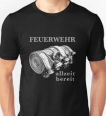 FEUERWEHR * allzeit bereit Slim Fit T-Shirt
