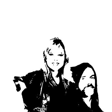 Samantha Fox & Lemmy by tomastich85