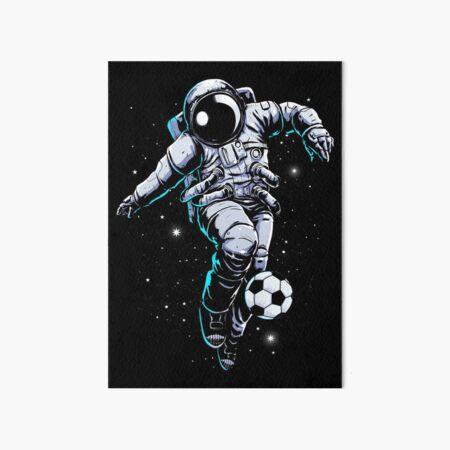 Space Soccer Art Board Print
