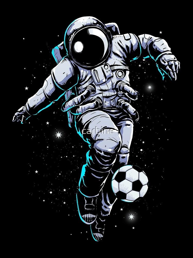 Weltraum Fußball von carbine