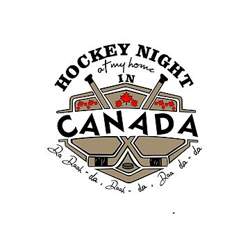 Hockey Night at my home in Canada by GR8DZINE