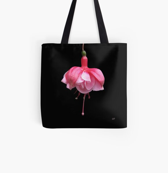 Floral Ballerina All Over Print Tote Bag