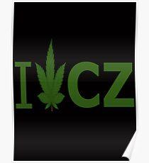 I Love CZ Poster