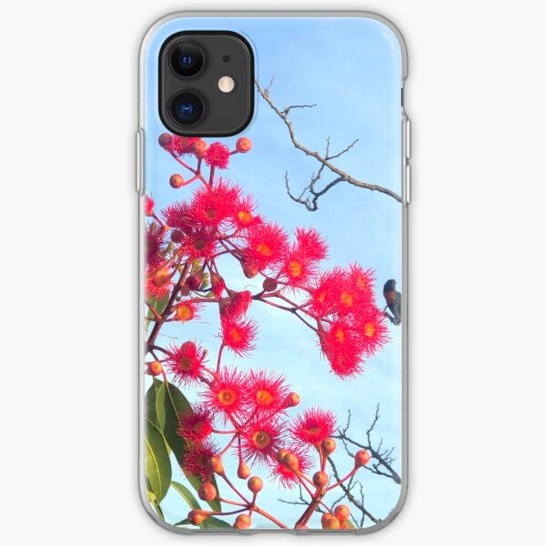 Beaut Blossums and Rowdy Rosellas iPhone Soft Case