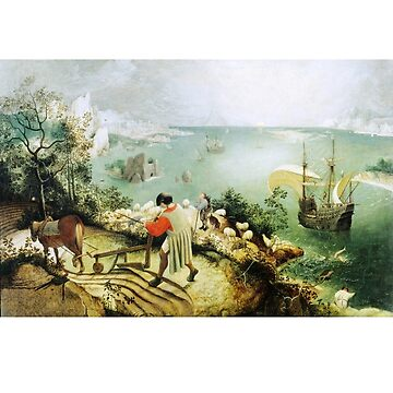 Landscape with the Fall of Icarus Pieter Bruegel The Elder by buythebook86