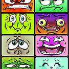 Funny Faces by Gopher-It