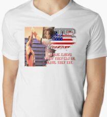 try victory Men's V-Neck T-Shirt