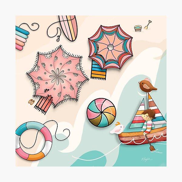 Summer Holiday Photographic Print