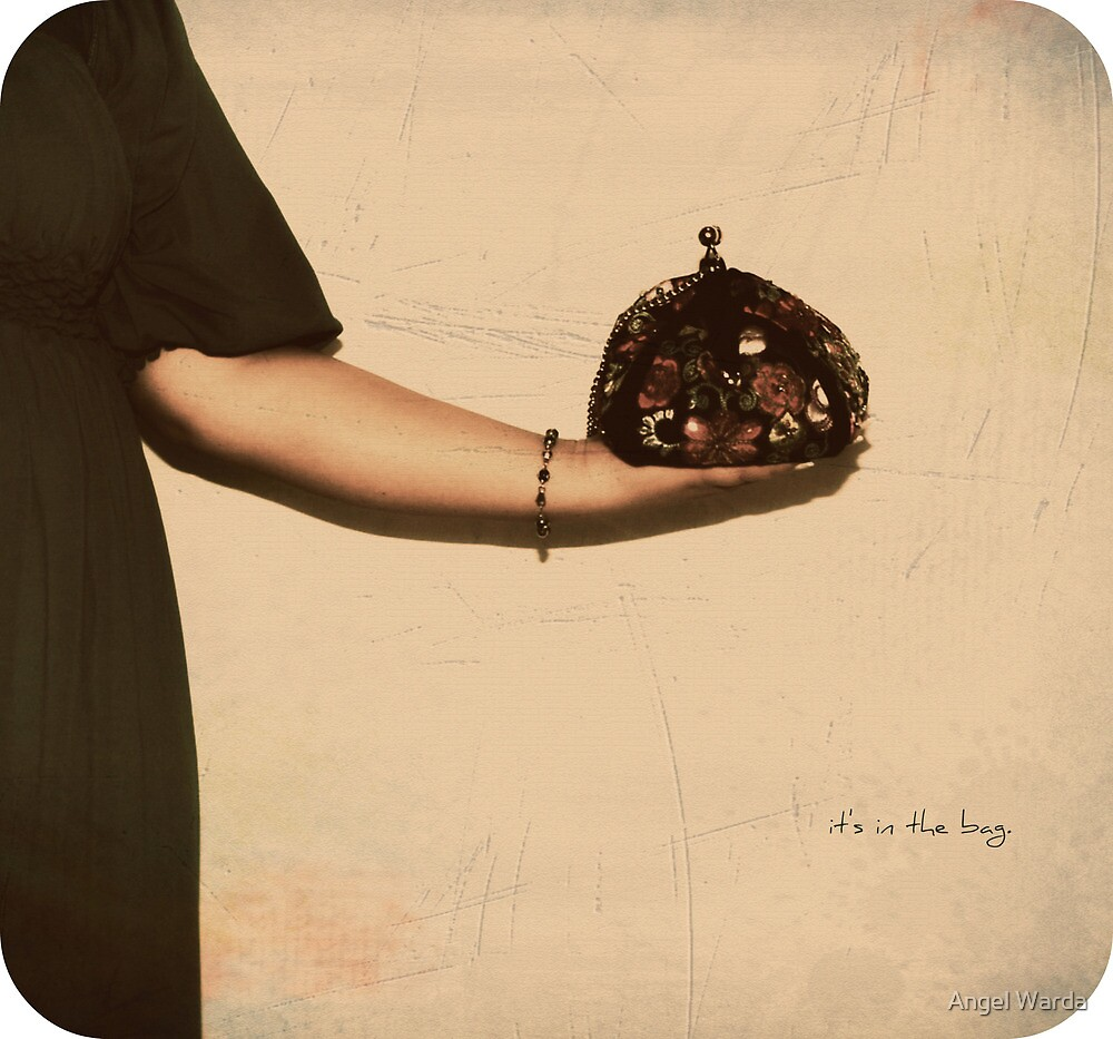 it's in the bag. by Angel Warda