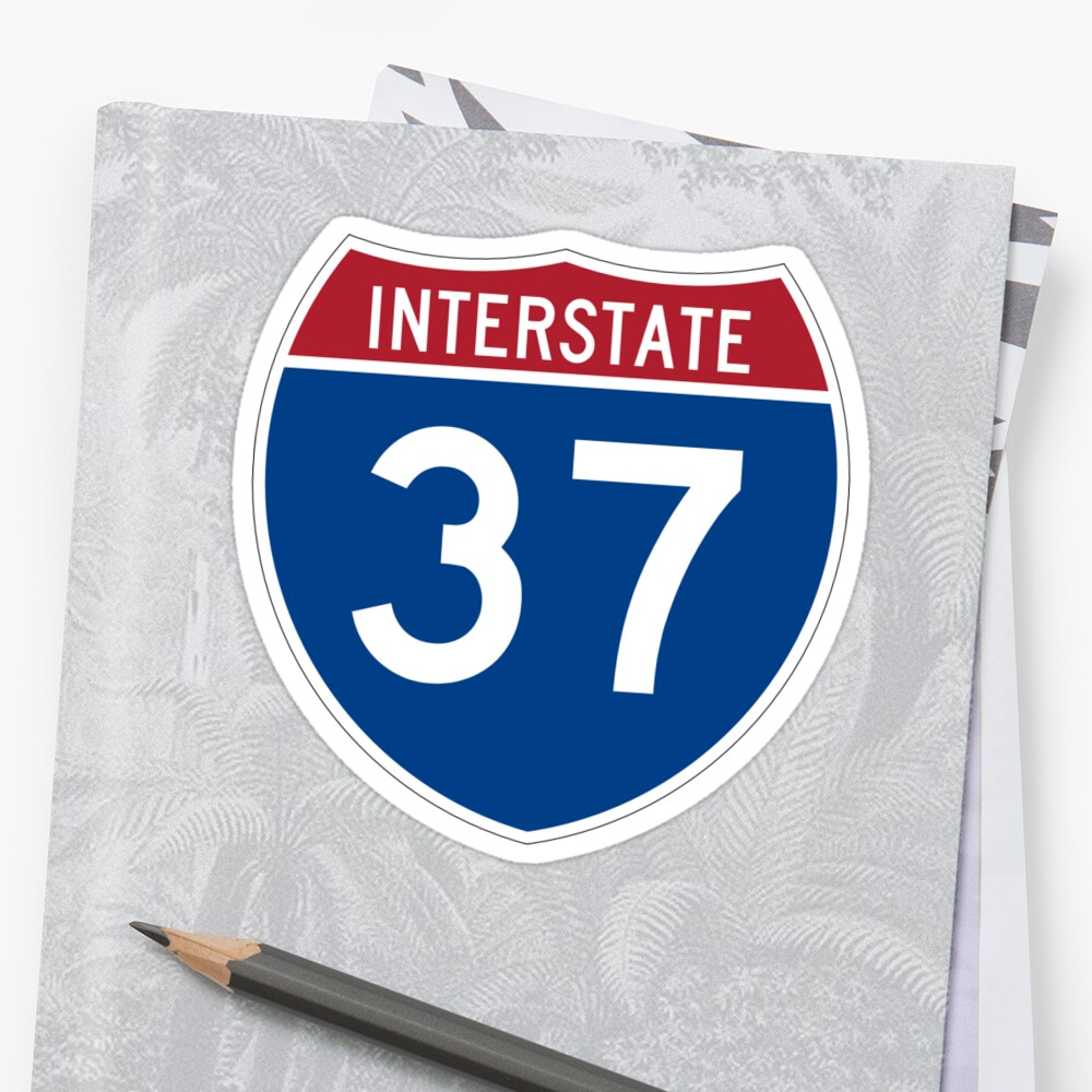 Interstate Number 37   Interstate Highway Thirty seven by igorsin