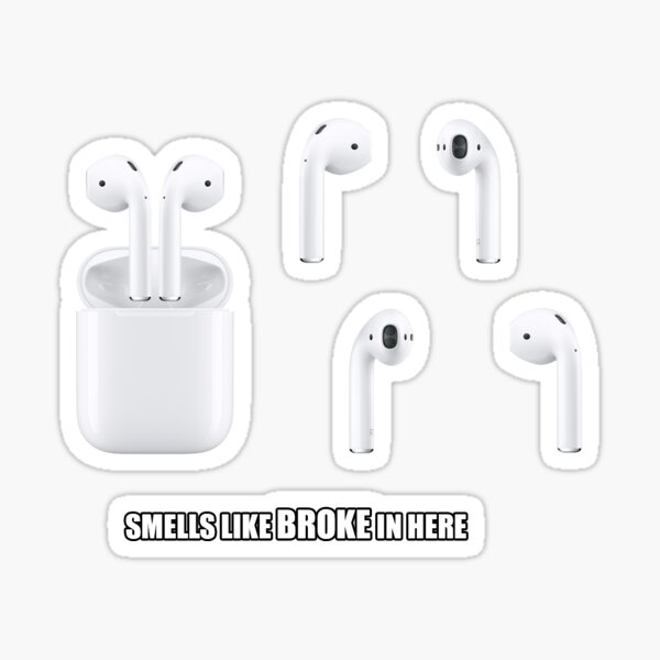 Airpods Stickers Pack Sticker