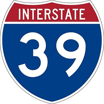Interstate Number 39 | Interstate Highway Thirty nine by igorsin