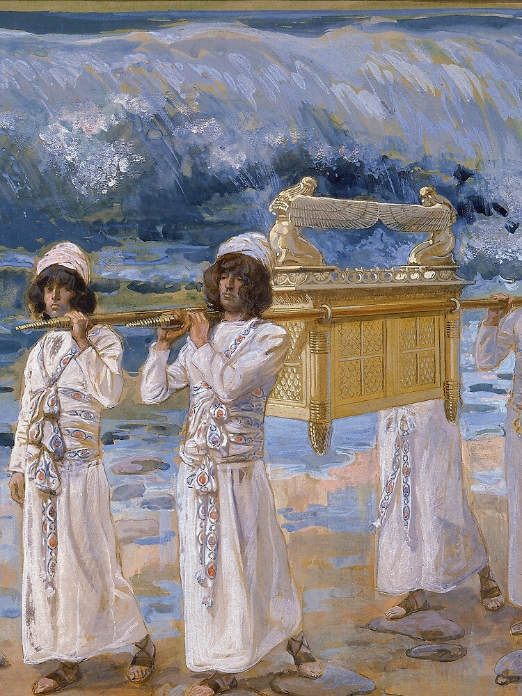 The Ark Passes Over the Jordan by James Tissot (c 1896-1902) by allhistory