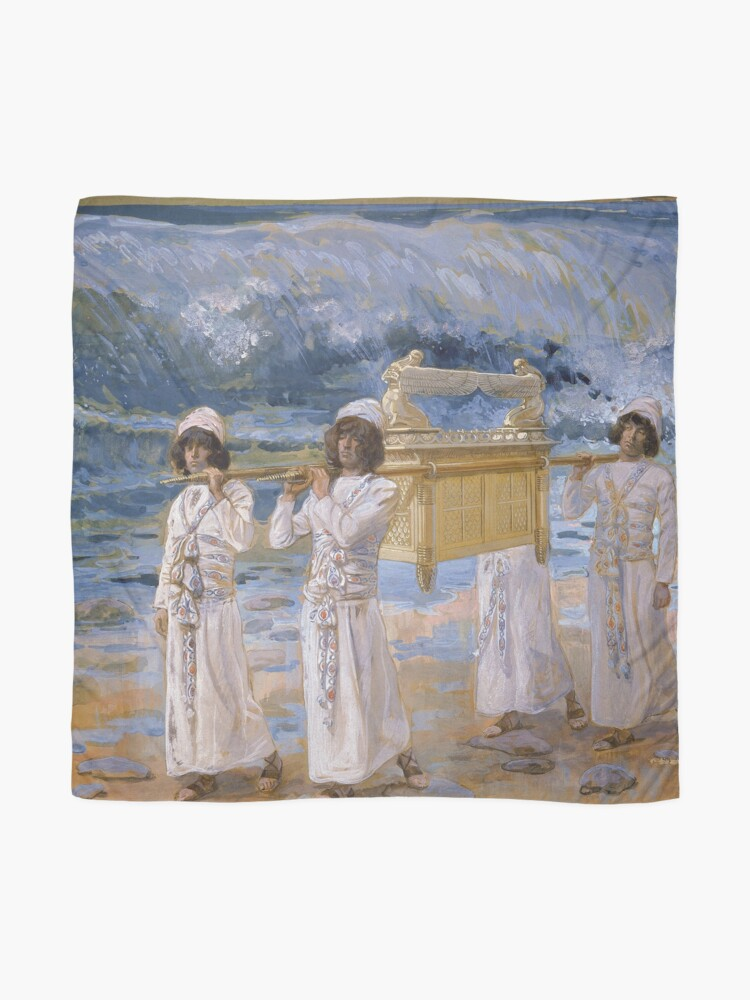 Alternate view of The Ark Passes Over the Jordan by James Tissot (c 1896-1902) Scarf