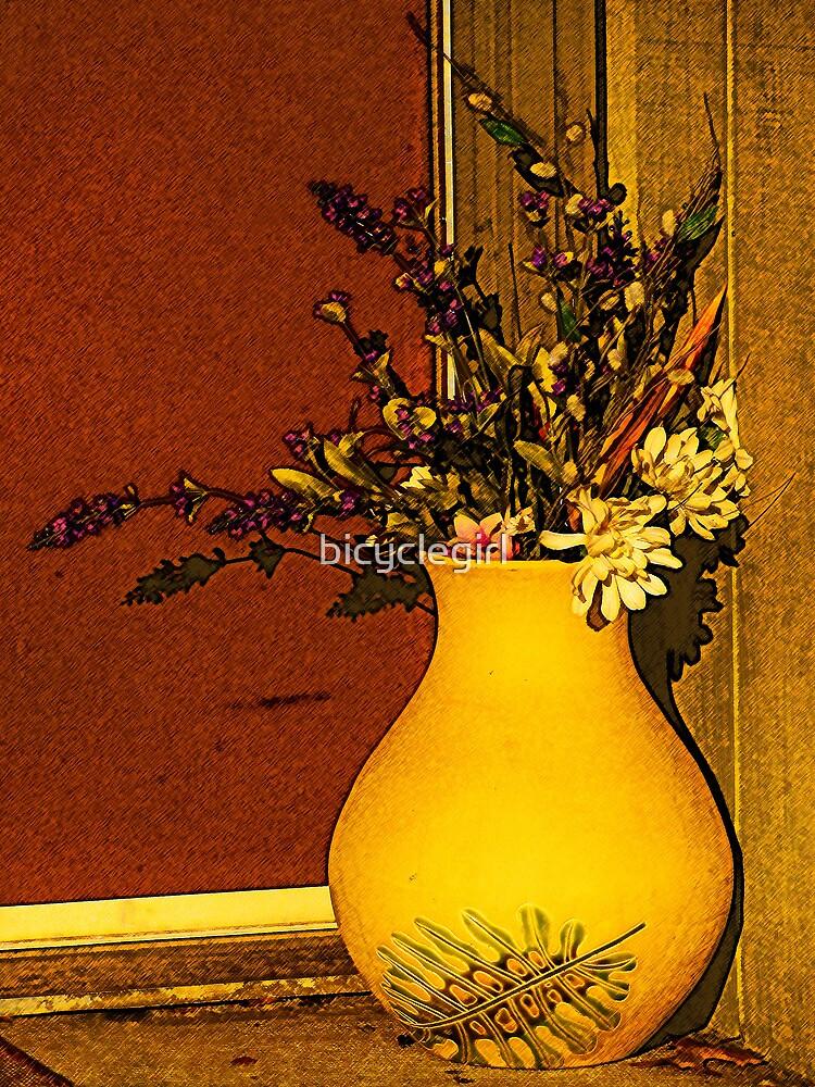 Flowers in a Jar by bicyclegirl