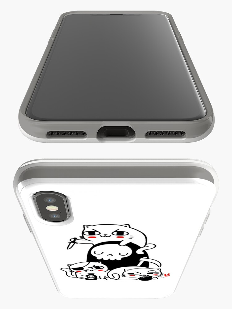 Alternate view of Death Is A Cat Person iPhone Case & Cover