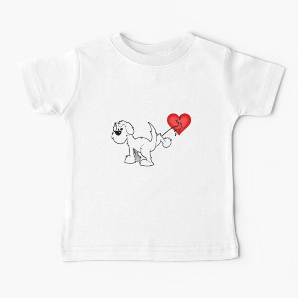 DOG - at least the dog likes me ! Baby T-Shirt