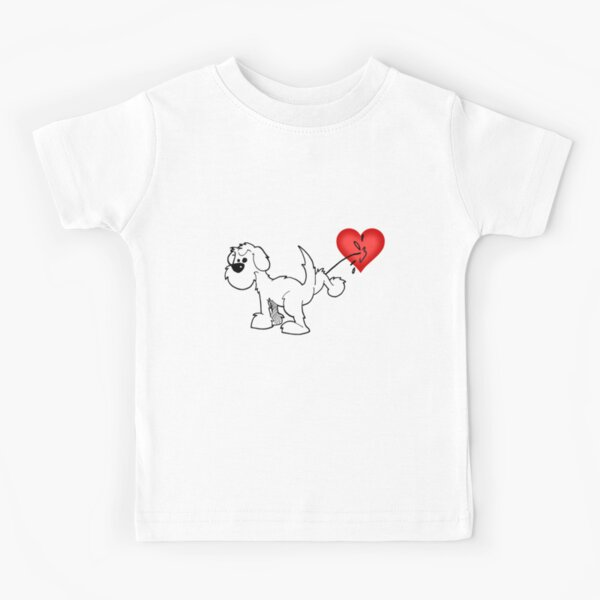DOG - at least the dog likes me ! Kids T-Shirt