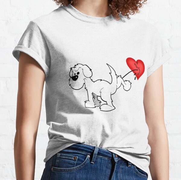 DOG - at least the dog likes me ! Classic T-Shirt