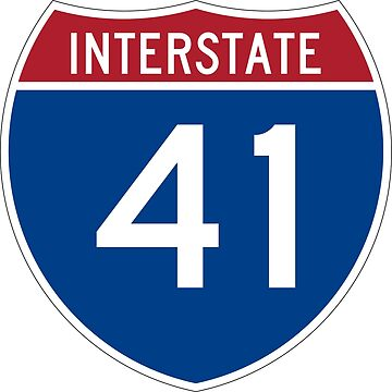 Interstate Number 41 | Interstate Highway Forty one by igorsin