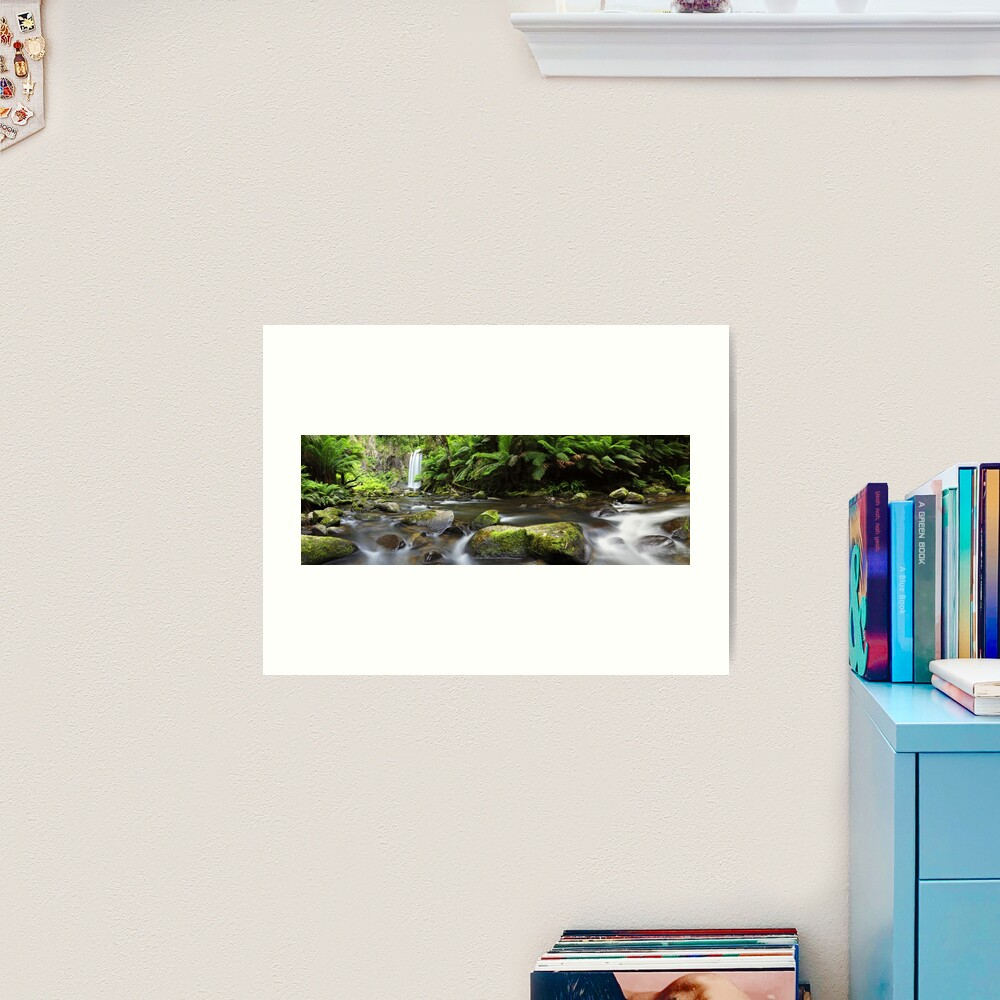Hopetoun Falls, Otways, Great Ocean Road, Australia Art Print