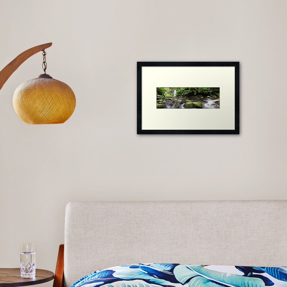 Hopetoun Falls, Otways, Great Ocean Road, Australia Framed Art Print