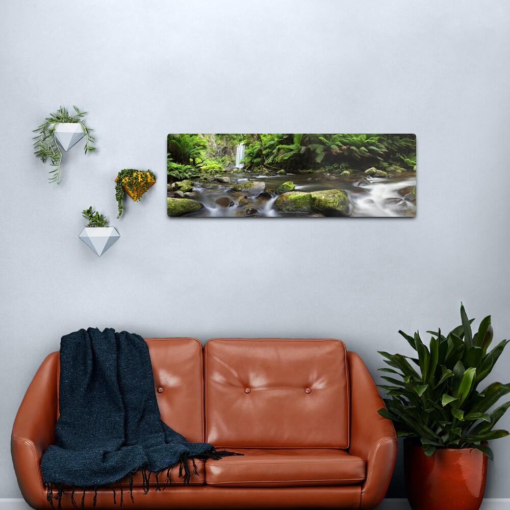 Hopetoun Falls, Otways, Great Ocean Road, Australia Metal Print