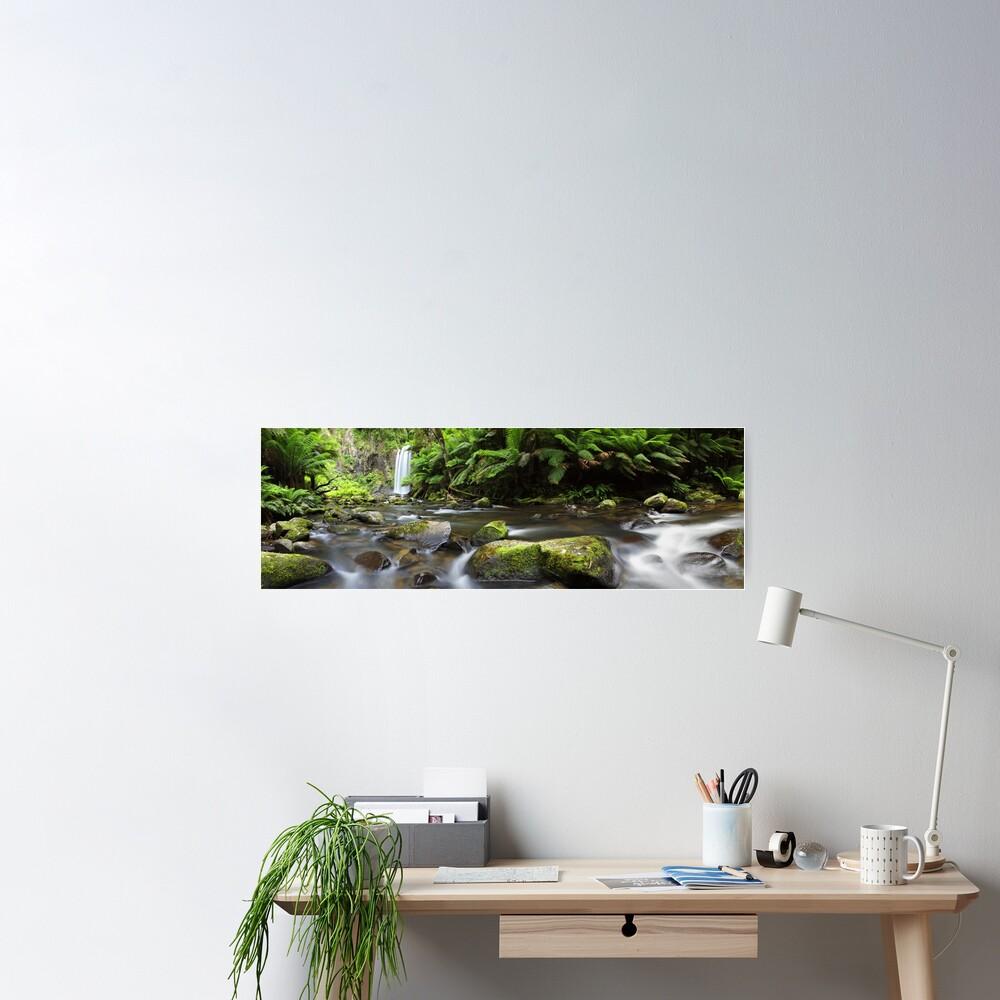 Hopetoun Falls, Otways, Great Ocean Road, Australia Poster