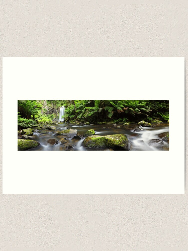 Alternate view of Hopetoun Falls, Otways, Great Ocean Road, Australia Art Print