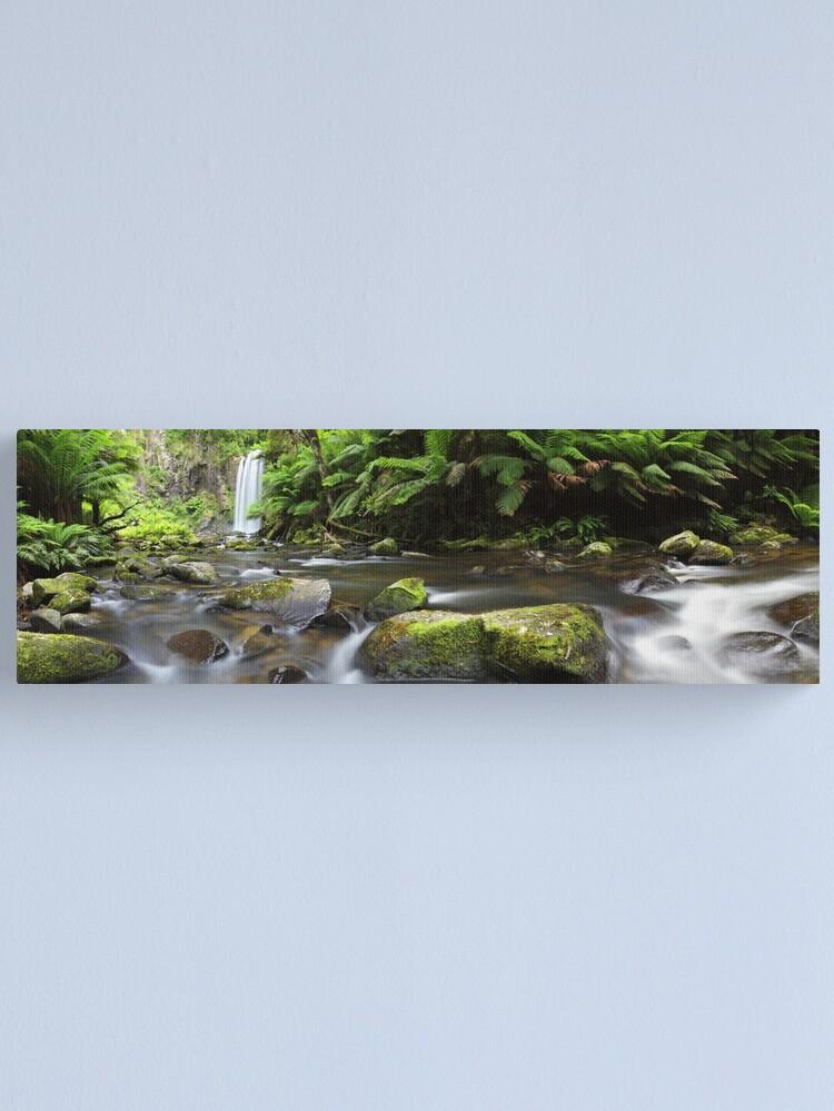 Alternate view of Hopetoun Falls, Otways, Great Ocean Road, Australia Canvas Print