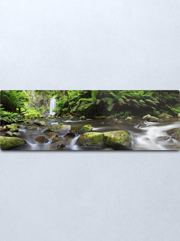Alternate view of Hopetoun Falls, Otways, Great Ocean Road, Australia Metal Print