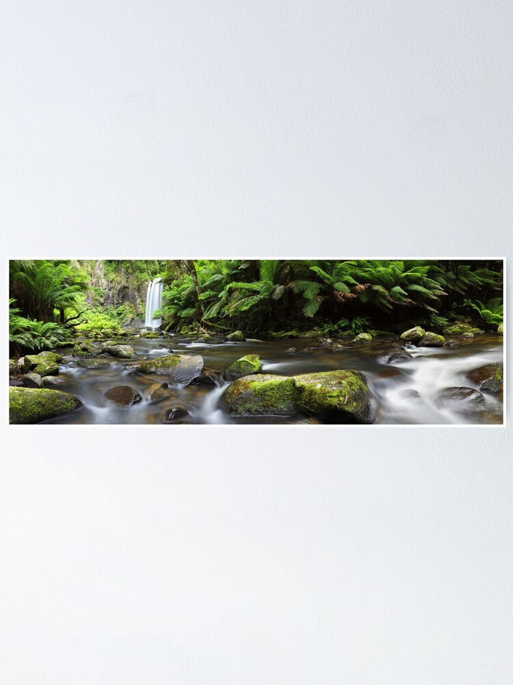 Alternate view of Hopetoun Falls, Otways, Great Ocean Road, Australia Poster