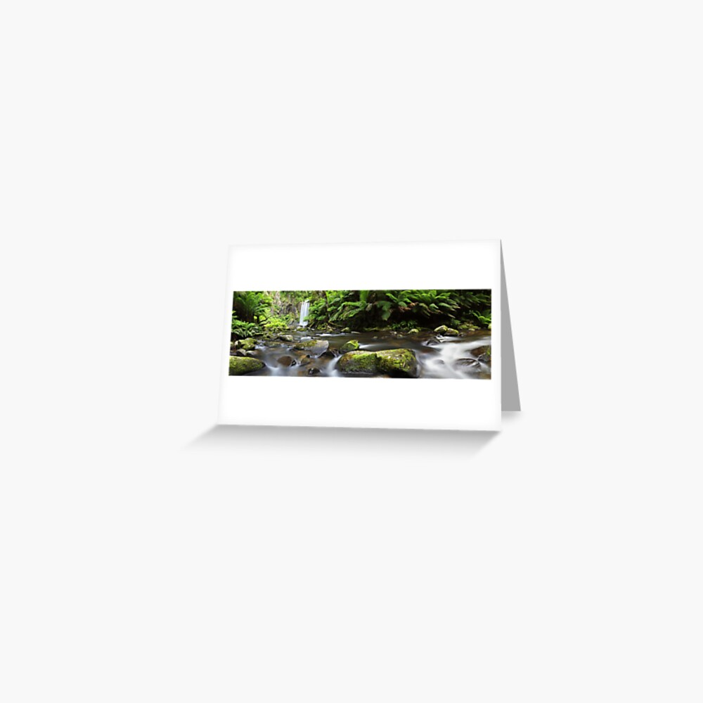 Hopetoun Falls, Otways, Great Ocean Road, Australia Greeting Card
