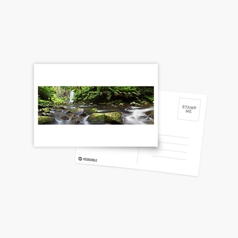 Hopetoun Falls, Otways, Great Ocean Road, Australia Postcard
