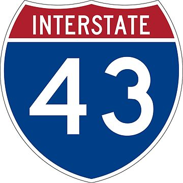 Interstate Number 43 | Interstate Highway Forty three by igorsin