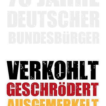 Deutscher Bundesbürger Deutschland Politik Protest by Donsanoj