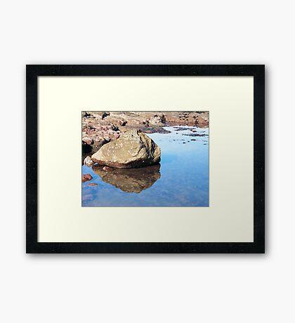 ROCKY POOL Framed Print