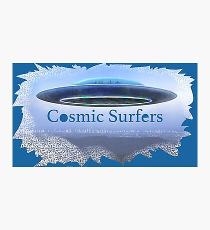 Cosmic Surfers Photographic Print