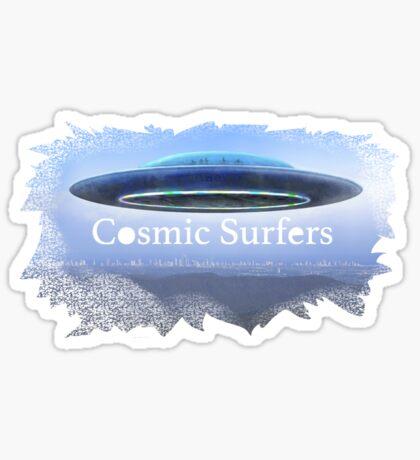 Cosmic Surfers Sticker