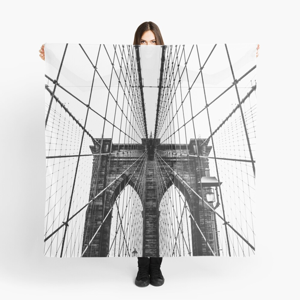 Brooklyn Bridge Web Scarf