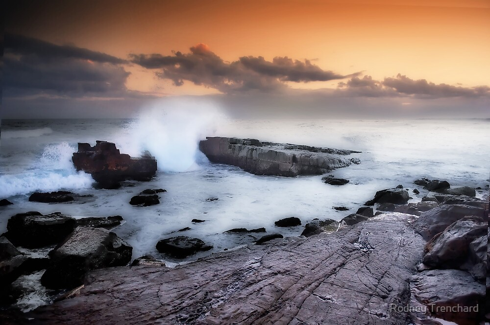 Crowdy Head #012 -Ocean In Motion Series by Rodney Trenchard