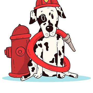 Dalmatian Firefighter by soondoock